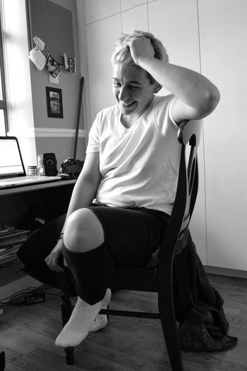 Old picture of me, part 2 (2015) Casual Clothing Day Giddy Happy Me Myself Portrait Shy Sitting