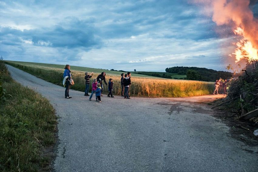 Midsummer Sonnwendfeuer Sonnwendfeier Sony A7mk2 Party Time! The Great Outdoors - 2015 EyeEm Awards