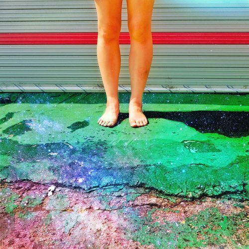 Foot Legs Nature Photography Photography Light And Shadow Galaxy Green Taking Photos