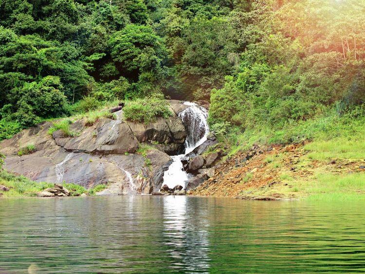 Nature Photography Wayanadtrip BanasuraSagarDam River View Sunrise Sunrays Naturalwater Waterfall