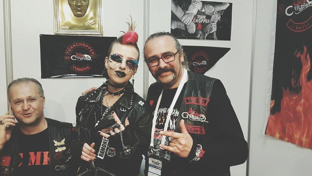 MC Motorcycleclub Punk Punkrock HorrorPunk Mcmeeting Streetlife Mohawk Punklife Biker Ol'lady