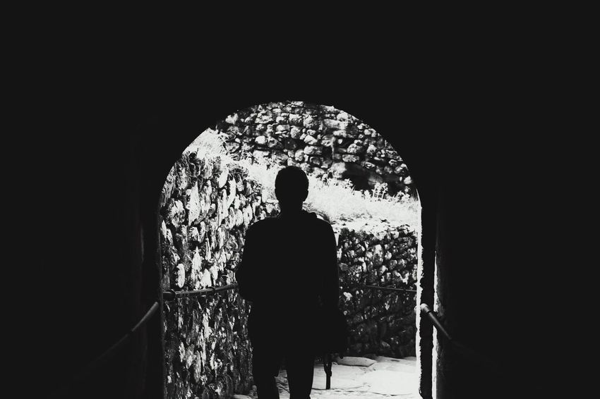 Blackandwhite Walk This Way Walk With Me Into The Light EyeEmNewHere Welcome To Black Black And White Friday