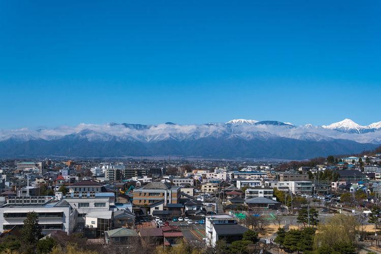 Blue sky Japan