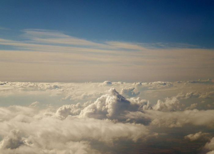 Dreaming... Flying Clouds And Sky Dreams