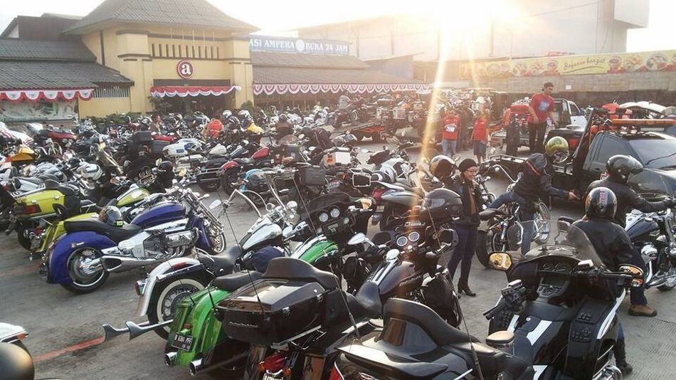 Ride for indonesia Enjoy Life Jogjakarta Jogja Bike Rendevous 2015 Harleydavidson Bikers Brotherhood Mc Creative People I Love Indonesia