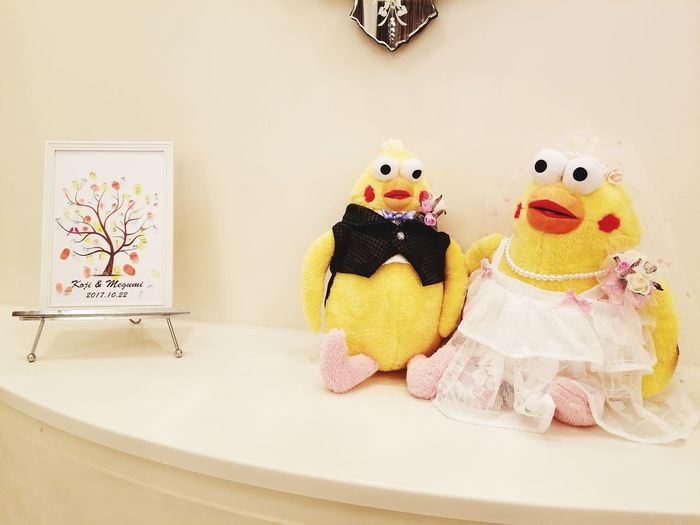 so cute♡ Birds ウェルカムドール Poinco Poincobrothers ポインコ兄弟 Welcomedoll EyeEm Selects Doll Art And Craft Toy Animal