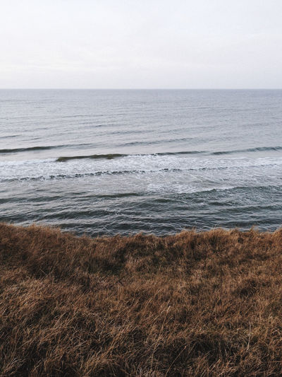 Endless Baltic Sea, Rügen (Germany) Autumn Colors Beach Beauty In Nature Horizon Over Water Horizontal Landscape Minimal Minimalism Nature No People Rural Scene Sea Sea And Sky Seascape Water Wave Neighborhood Map