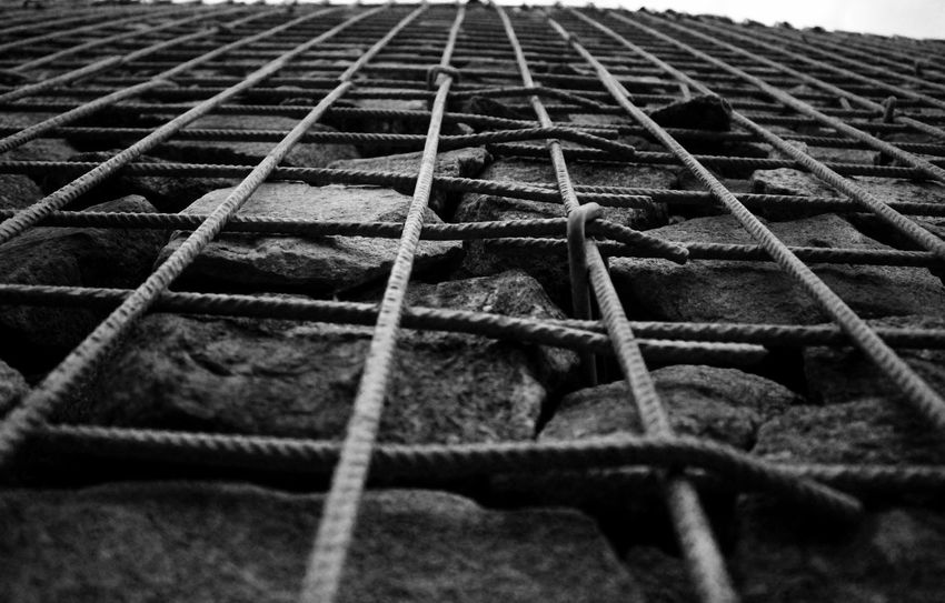 Blackandwhite Photography Depth EyeEm Gallery Fence Focus On Foreground GeometricShape Getting Inspired Pivotal Ideas Showcase August Wall Wall - Building Feature