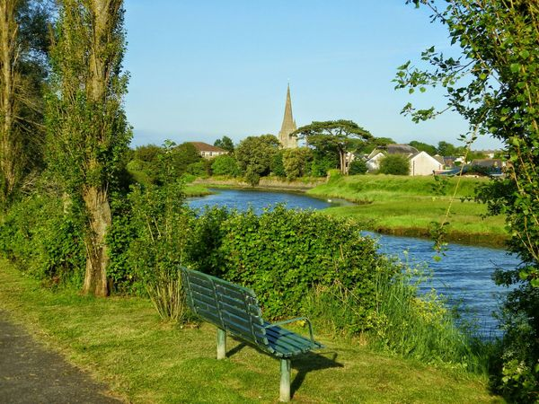 Wales Photography Taking Photos Check This Out Churchtower Riverside Bench Countryside Oldtown Walking Around