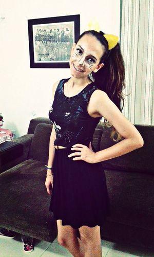 ?? Docesoutravessuras Halloween Miau Cat
