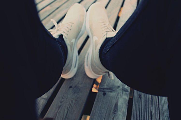 Shoes Human Leg Shoe One Person Nike Nike✔ Nike, Just Do It Nike ✔ Nike Shoes Nikewomen Shoes Of The Day Beach Human Foot Day Me Photography Shoephotography Fotography Strand Girl