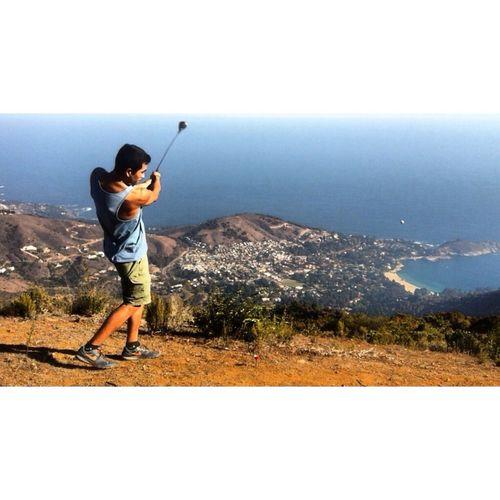Ollo en uno 💪😎💪 Taking Photos That's Me Relaxing Paisaje Natural EyeEm Golf Escaping Peace Liberty I Love My Job!