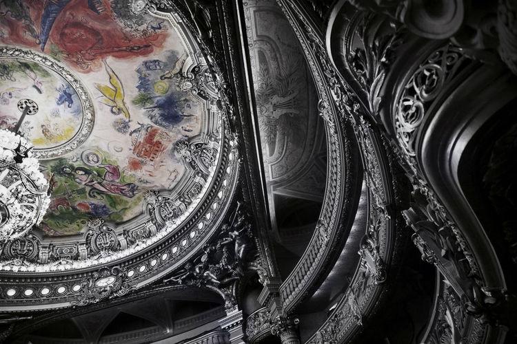 "If the interior of the ""Opéra de Paris Garnier"" was in silver! Boxes Creativity Culture Design Directly Above France Frescoes Full Frame Imaginative Indoors  No People Opera Garnier Opera National De Paris Operahouse Ornate Paris Selective Focus Silver  Still Life Ópera De Paris"