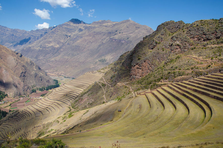 Andes Andes Mountains Geology Hill Inca Landscape Nature Peru Physical Geography Pisac Pisac Perú South America Travel Destinations Valle Sagrado