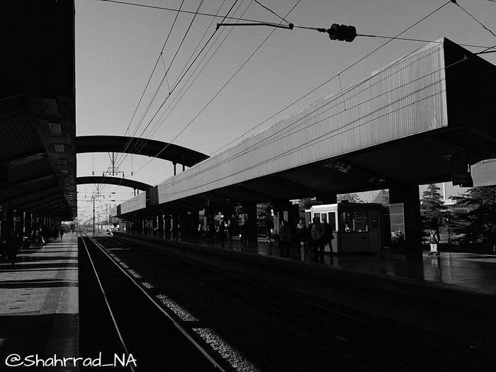 Art هنر Shahrrad_NA Photography Blakandwhite Metro