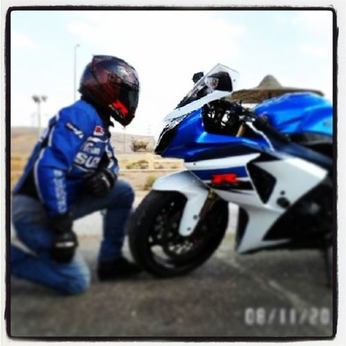 One of the Finest Suzuki GSXR1000 In Egypt Meet Koji & his Mighty Gix its a spiritual moment before the Ride InstaMood InstaGood Motorcycles Bikerboys Bikers