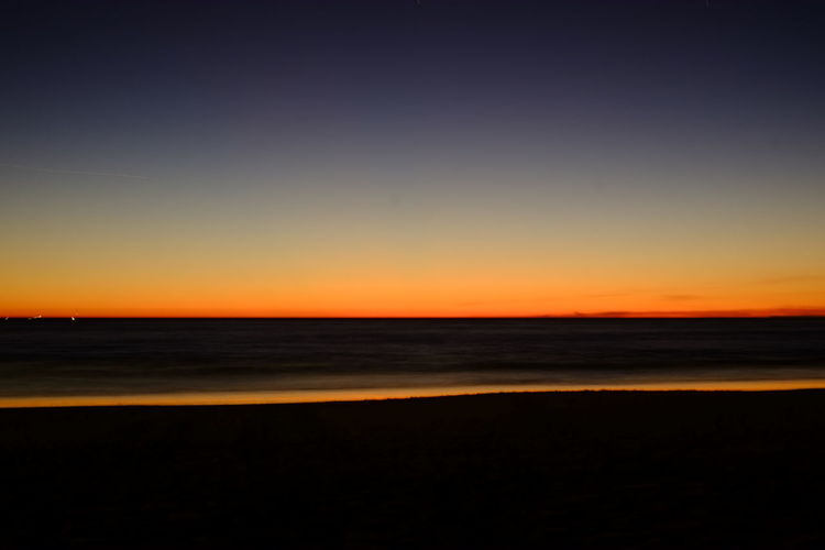 Sunset Long Exposure Minimalism Beach Photography