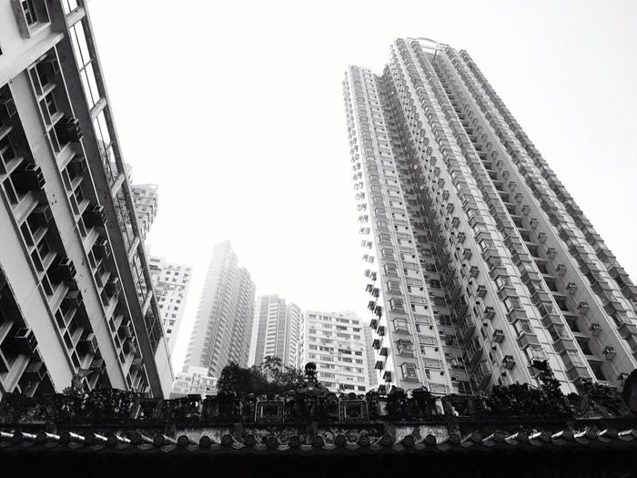 Architecture Hong Kong Urbanphotography Urban Landscape Urban Black And White Tall Buildings