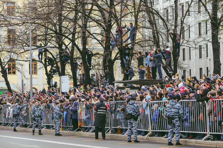 Military Parade in Moscow, May 9, 2017 Adult Adults Only Crowd Day Equipment Events Large Group Of People Marching May 9 Men Military Military Parade Outdoors Parade People Real People Soviet Union Street Tree Uniform Victory Day Women World War The Photojournalist - 2017 EyeEm Awards