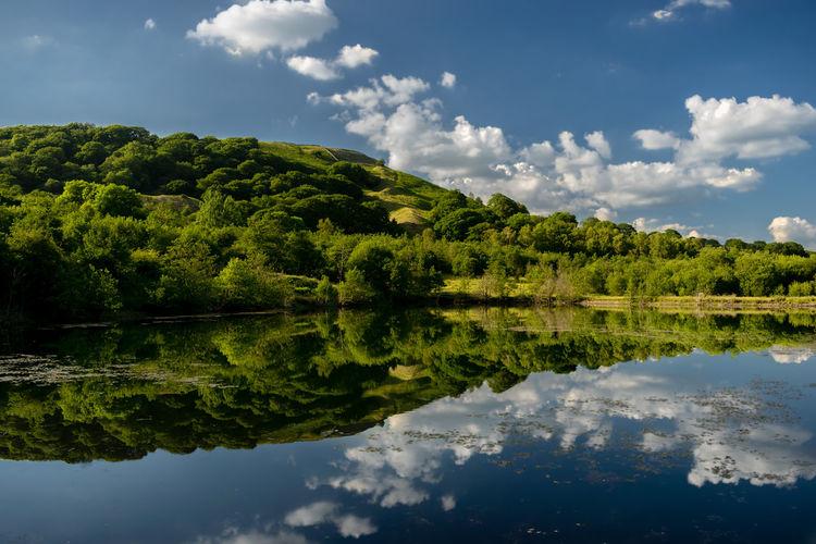 Lake Below The