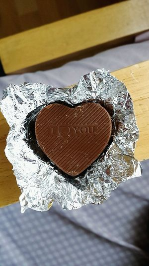 Chocolate Heart Chocolate Heart Foil