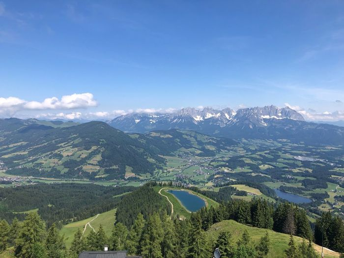 Hahnenkamm panorama EyeEm Nature Lover Eyem Best Shots Nature_collection Copy Space Eyemphotography Hahnenkamm Plant Beauty In Nature Scenics - Nature Growth Mountain Landscape Tranquil Scene No People Cloud - Sky Nature Environment Mountain Range