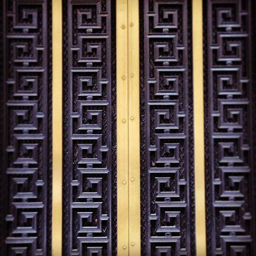 Side Door 51ststreet Sidedoor NYC Wood Door NY Newyork Metal Side Radiocity Newyorkstate Textury