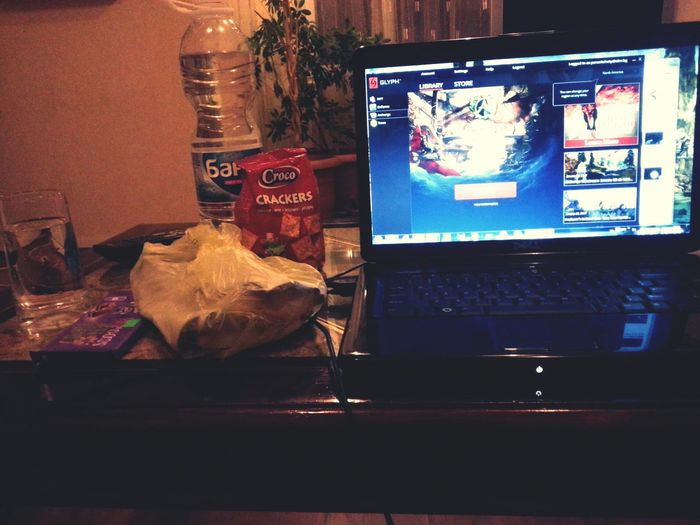 ArcheAge Eating Good Life Night At Home Playinggame