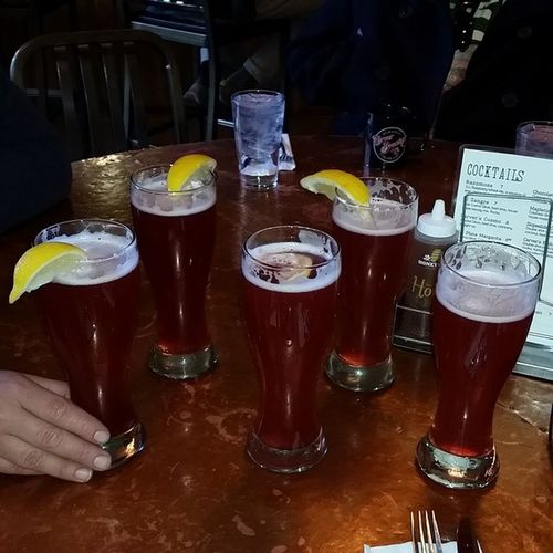 One more stop on the Beercation with some @carverbrewing Raspberrywheatale Tasty Tart craftbeer beer