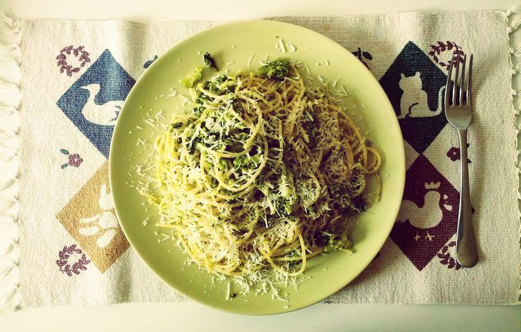 pasta e broccoli! :)
