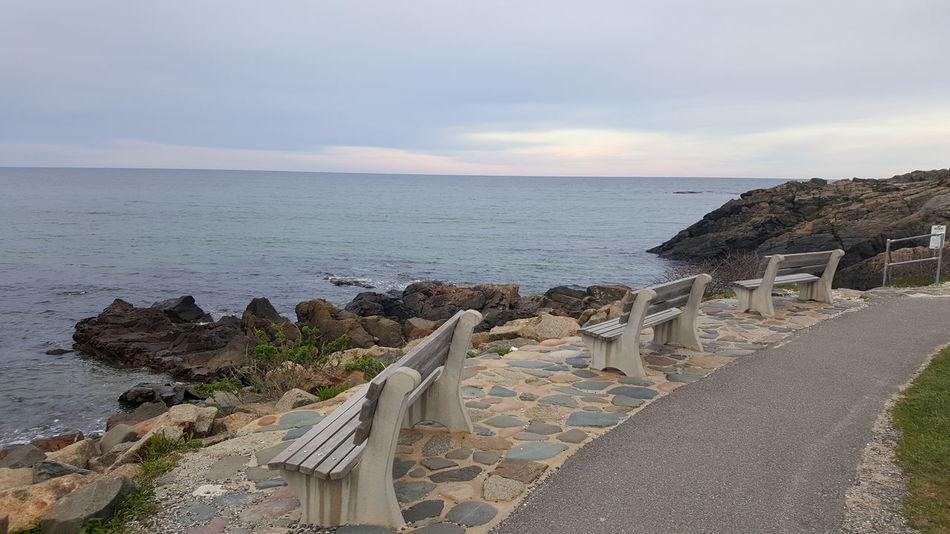 Marginal Way Maine Pacific Ocean Water Waves