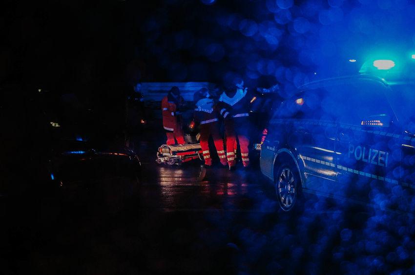 Cat Crash Night Police Reflection Street Street Photography Streetphoto_color Streetphotography