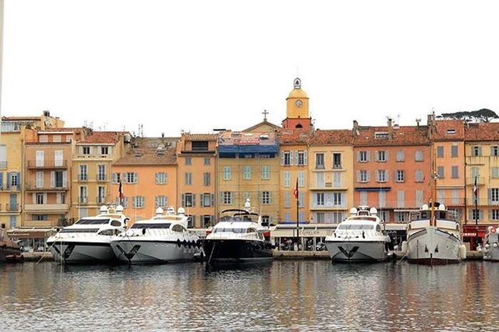 Sainttropez Francia Seascape Landscapecaptures Boats Barche Sea Deti Cielo Mare