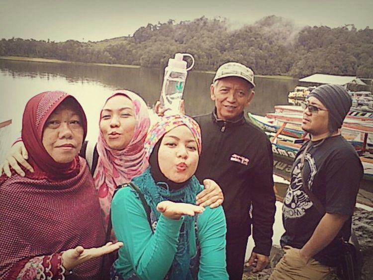 Situ Patenggang Love My Family ❤