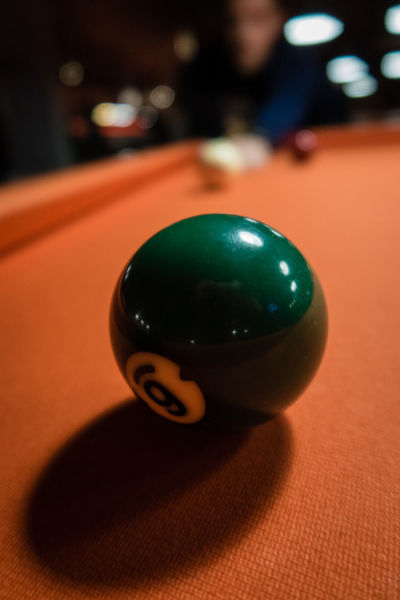 Ball Billiards Close-up Day Focus On Foreground Indoors  Leisure Games Nineball No People Orange Color Pool - Cue Sport Pool Ball Pool Cue Pool Table Snooker Snooker Ball Sport Still Life Table