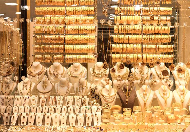 Gold at the great bazaar. Large Group Of Objects Arrangement Gold Gold Colored Retail Display Human Representation Retail  Shelf Luxury Luxurylifestyle  Recession Millionnaire Money Jewelry Jewels Abundance No People Tadaa Community EyeEm Best Shots EyeEmNewHere EyeEm Gallery