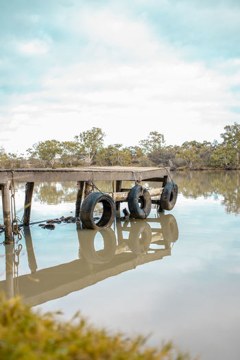 Old dock at