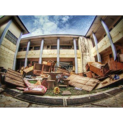 Keadaan di sekolah sk Limaukasturi Kelantan semasa proses Pembersihan Prayforpantaitimur Kelate Flood Banjir Gopro HDR
