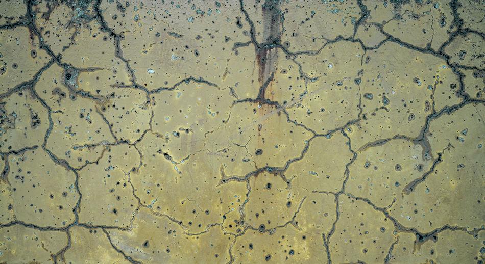 Full frame shot of water on land