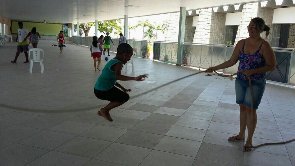 Connected By Travel People Adult Lifestyles Healthy Lifestyle Togetherness Exercising Friendship Young Adult Sport City Life Happiness Enjoyment😁 Kids Playing Kids Having Fun Skipping Class Freezetheaction
