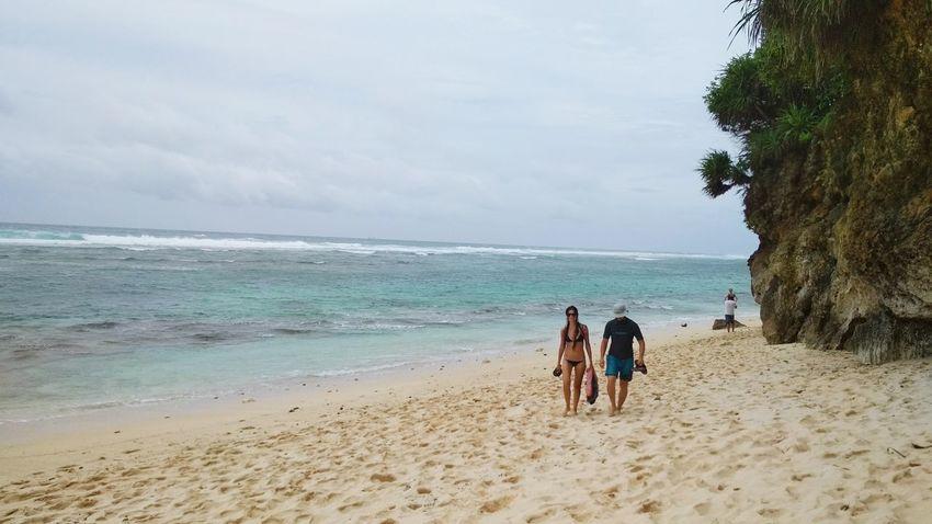 Beach Sea Sand Horizon Over Water Water Vacations Summer