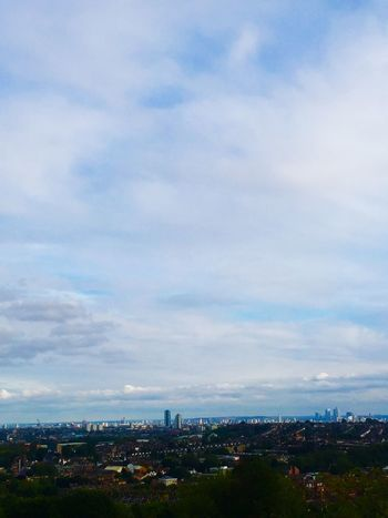 The other week Alexandra Palace London Sky View Buildings Pretty Blue Taking Photos
