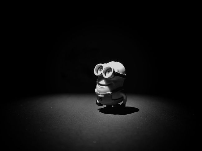 That's the result when I be bored 😆 Creative Light And Shadow Still Life Blackandwhite Photography Getting Inspired Single Light Source Light And Shadow Blackandwhite Getting Creative Minions EyeEm Best Shots Photography Simple Things Beauty In Ordinary Things