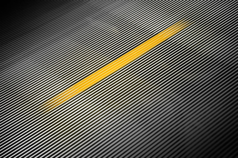 Velocity Abstract Backgrounds Design Detail Geometric Shape LINE Metal No People Pattern Repetition Speed Striped Tempo Velocity Yellow