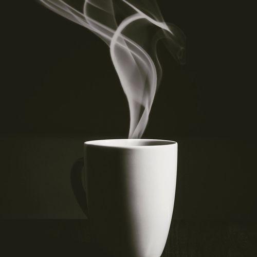 Smoke Emitting From Coffee Cup