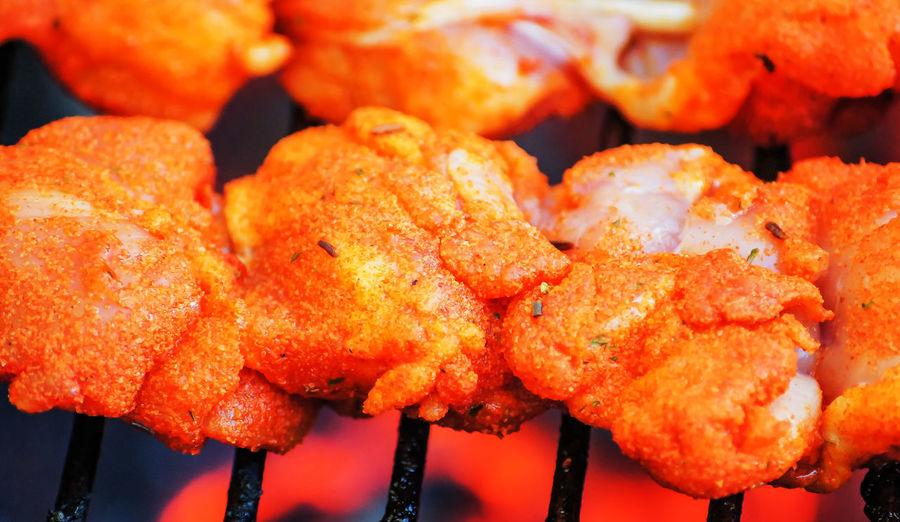 Close-up of roast meat