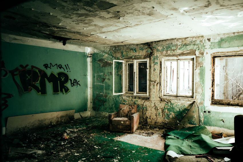 Abadoned place Abandoned & Derelict Abandoned Places Decay Lighthouse Room Abandoned Abandoned Buildings Architecture Built Structure Damaged Day Derelict Building Destruction Dirty House Indoors  Light And Shadow No People Old Old Ruin Rotting Rubble Run-down Weathered Window