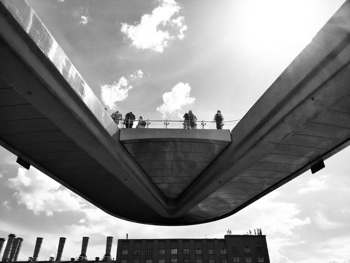 Moscow Bnw_diamond Blackandwhite The Architect - 2018 EyeEm Awards City Men Politics And Government Business Finance And Industry Occupation Bridge - Man Made Structure Sky Architecture Built Structure