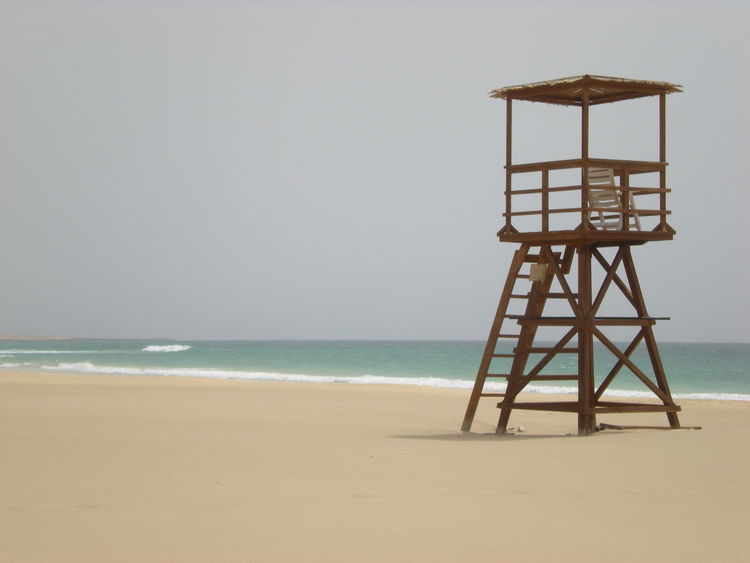 Architecture Beach Beauty In Nature Day Horizon Over Water Lifeguard  Lifeguard Hut Lookout Tower Nature No People Outdoors Protection Safety Sand Scenics Sea Sky Tranquility Water