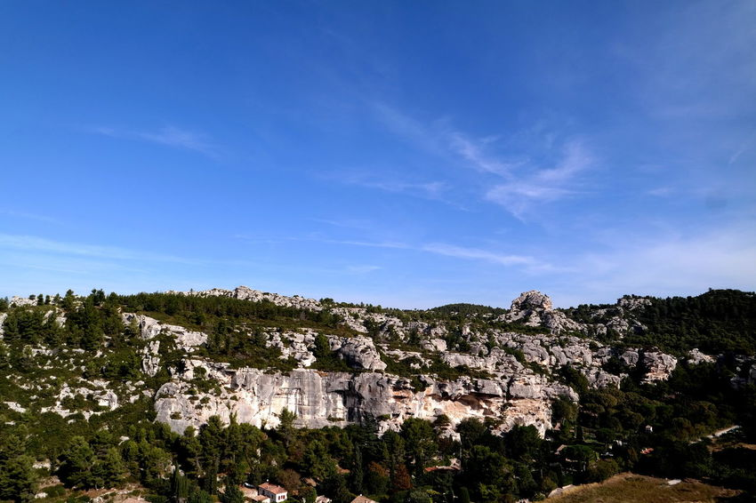 Beauty In Nature Blue Sky Cliff Eye4photography  EyeEm Best Shots EyeEm Nature Lover EyeEmBestPics France Geology Landscape_Collection Landscape_photography Les Baux De Provence Lesbauxdeprovence Mountain Nature Nature_collection Physical Geography Provence Rock Formation Rock Formation Sky Solitude The Week On EyeEm Tranquil Scene Tranquility The Great Outdoors - 2017 EyeEm Awards